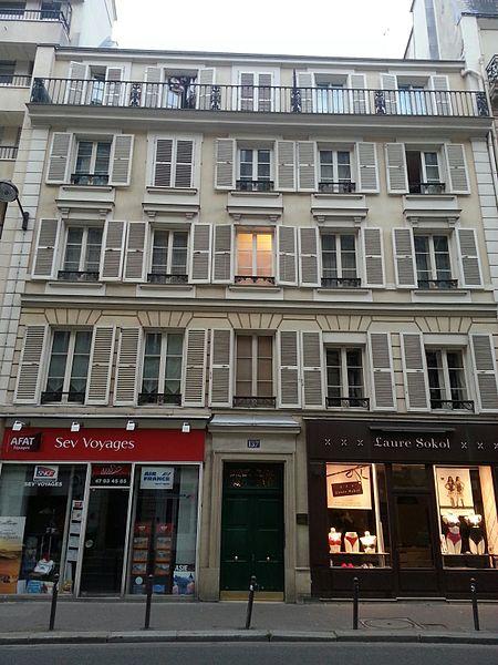Photo du Monument Historique Pavillons situé à Paris 6e Arrondissement