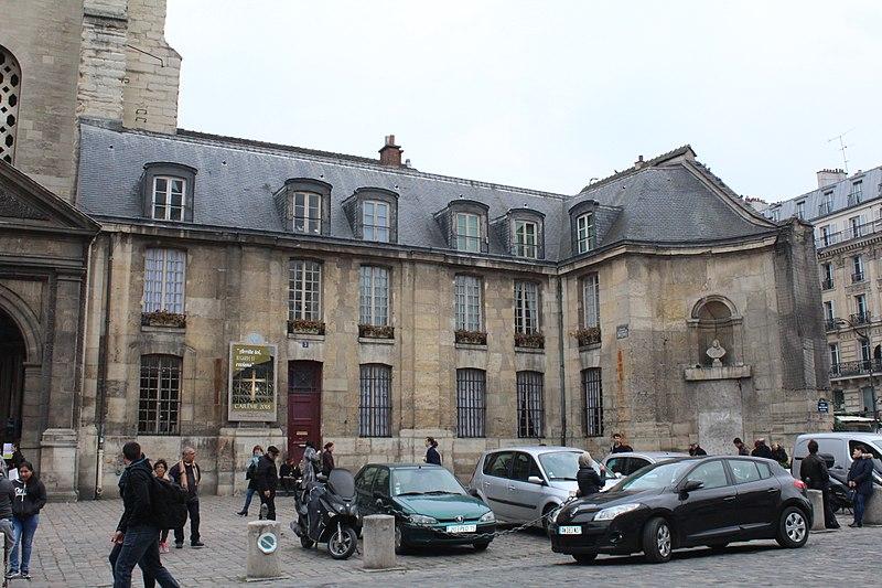 Photo du Monument Historique Presbytère de Saint-Germain-des-Prés situé à Paris 6e Arrondissement