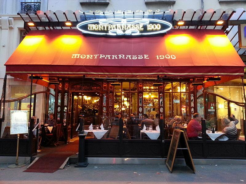 Photo du Monument Historique Ancien restaurant Rougeot, actuellement Bistrot de la Gare situé à Paris 6e Arrondissement