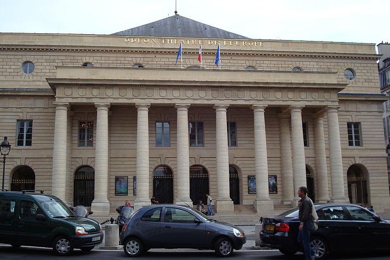 Photo du Monument Historique Théâtre de l'Odéon situé à Paris 6e Arrondissement