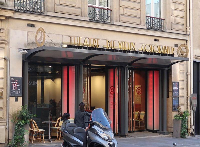 Photo du Monument Historique Théâtre du Vieux-Colombier situé à Paris 6e Arrondissement