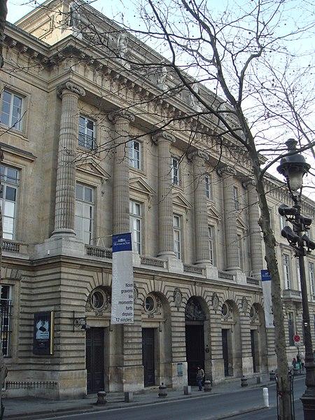 Photo du Monument Historique Hôtel des Monnaies (voir aussi : enceinte de Philippe-Auguste) situé à Paris 6e Arrondissement