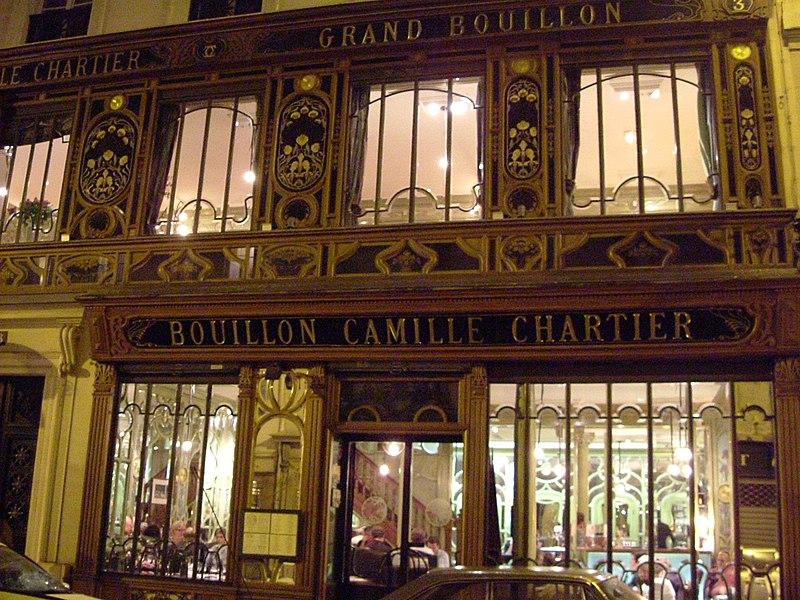 Photo du Monument Historique Ancien grand Bouillon Chartier situé à Paris 6e Arrondissement
