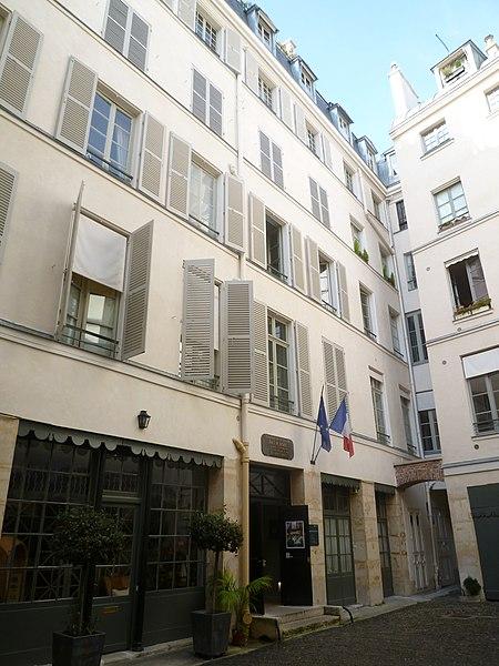 Photo du Monument Historique Immeuble et musée Delacroix situé à Paris 6e Arrondissement