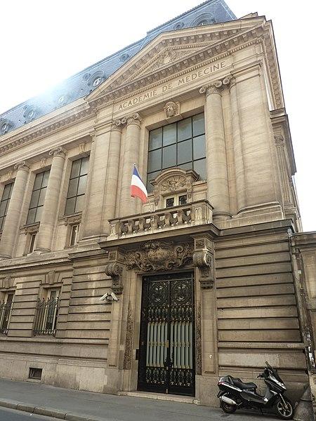 Photo du Monument Historique Académie de Médecine situé à Paris 6e Arrondissement