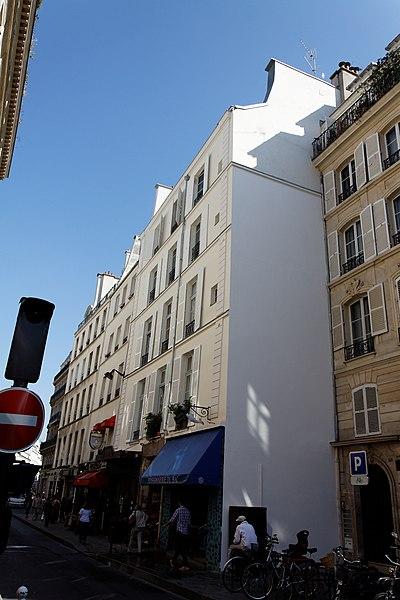Photo du Monument Historique Boucherie Chevaline situé à Paris 7e Arrondissement