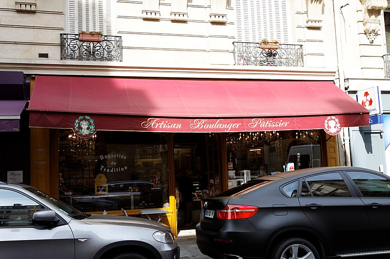 Photo du Monument Historique Boulangerie situé à Paris 7e Arrondissement