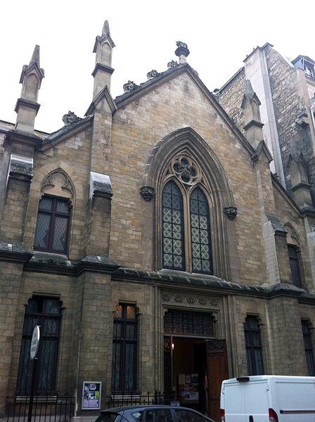 Photo du Monument Historique Chapelle des Catéchismes situé à Paris 7e Arrondissement