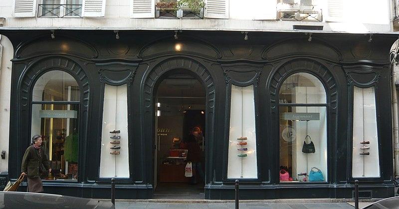 Photo du Monument Historique Ancien commerce d'alimentation situé à Paris 7e Arrondissement