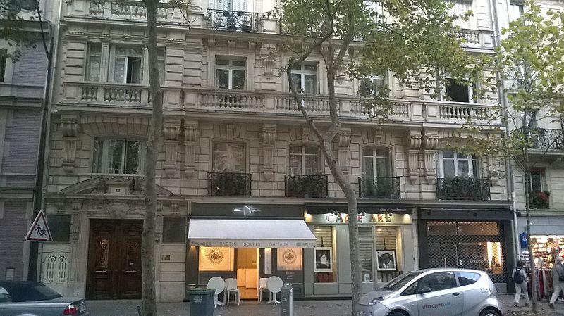 Photo du Monument Historique Crèmerie situé à Paris 7e Arrondissement