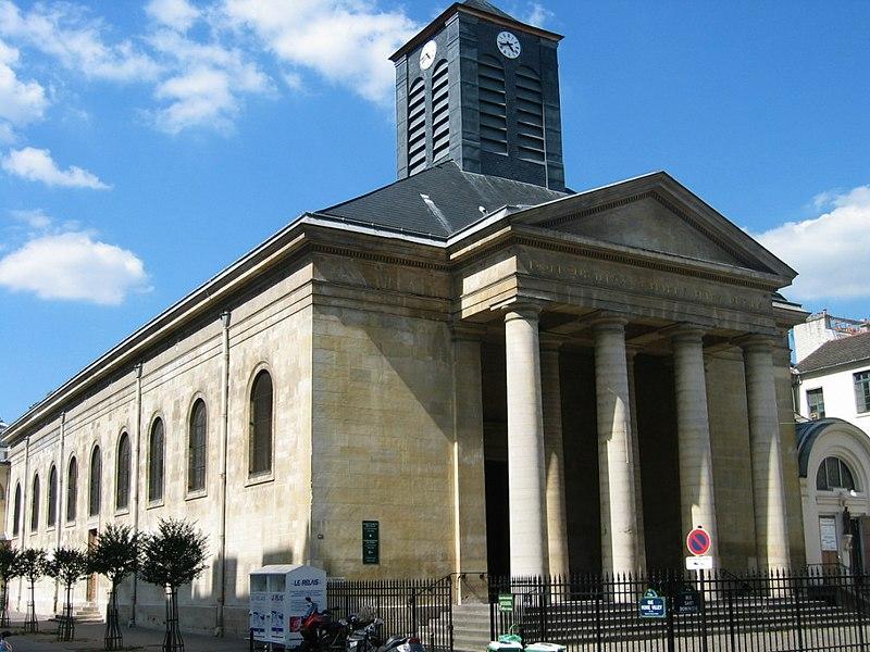 Photo du Monument Historique Eglise Saint-Pierre-du-Gros-Caillou situé à Paris 7e Arrondissement