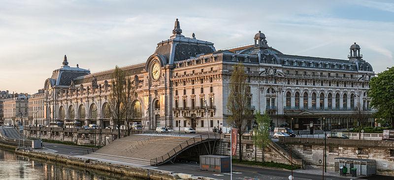 Photo du Monument Historique Ancienne gare d'Orsay, actuellement musée d'Orsay situé à Paris 7e Arrondissement