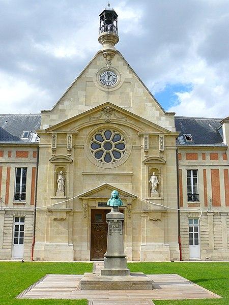 Photo du Monument Historique Hôpital Laënnec situé à Paris 7e Arrondissement