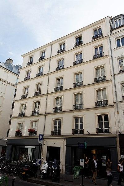 Photo du Monument Historique Horlogerie situé à Paris 7e Arrondissement