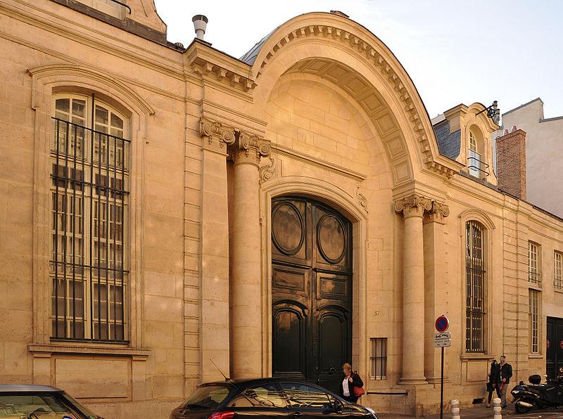Photo du Monument Historique Hôtel de Beauffremont situé à Paris 7e Arrondissement