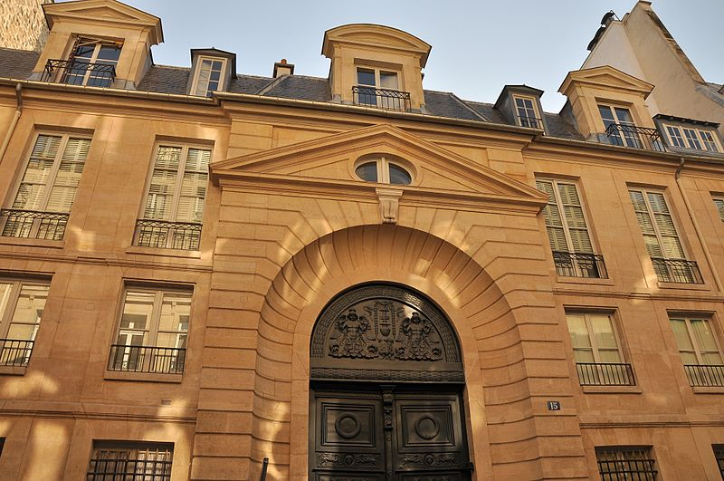 Photo du Monument Historique Hôtel d'Aligre ou de Beauharnais (ou de Maupéou ou d'Harlay) situé à Paris 7e Arrondissement