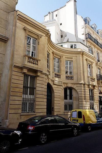 Photo du Monument Historique Ancien hôtel de Bérulle situé à Paris 7e Arrondissement