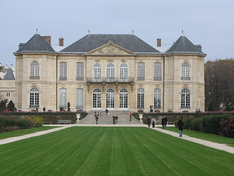 Photo du Monument Historique Ancien hôtel de Biron ou ancien hôtel du Maine, actuellement musée Rodin situé à Paris 7e Arrondissement