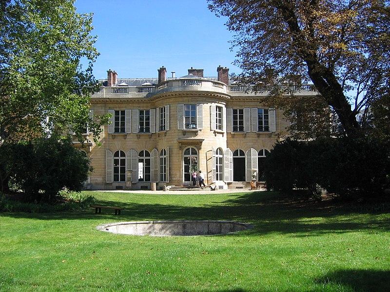 Photo du Monument Historique Ancien Hôtel de Bourbon-Condé situé à Paris 7e Arrondissement