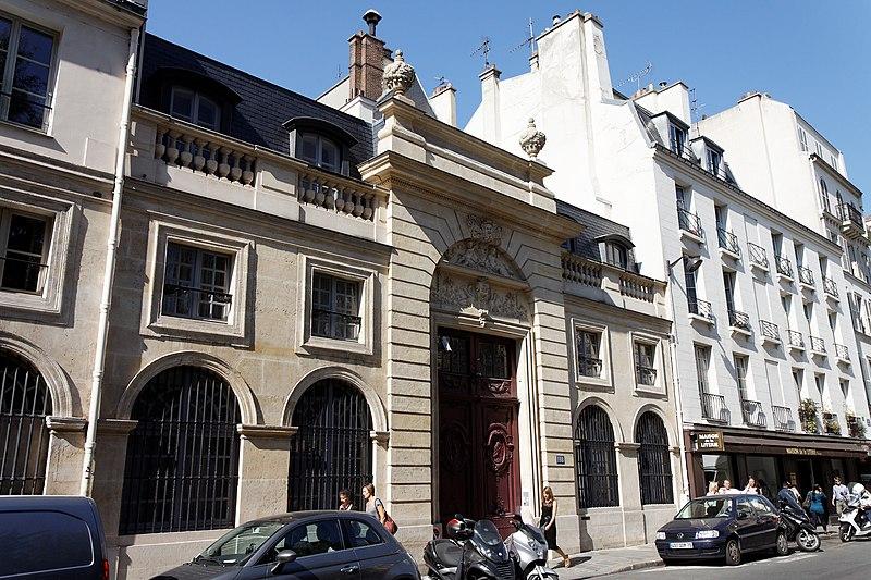 Photo du Monument Historique Hôtel de Clermont-Tonnerre situé à Paris 7e Arrondissement