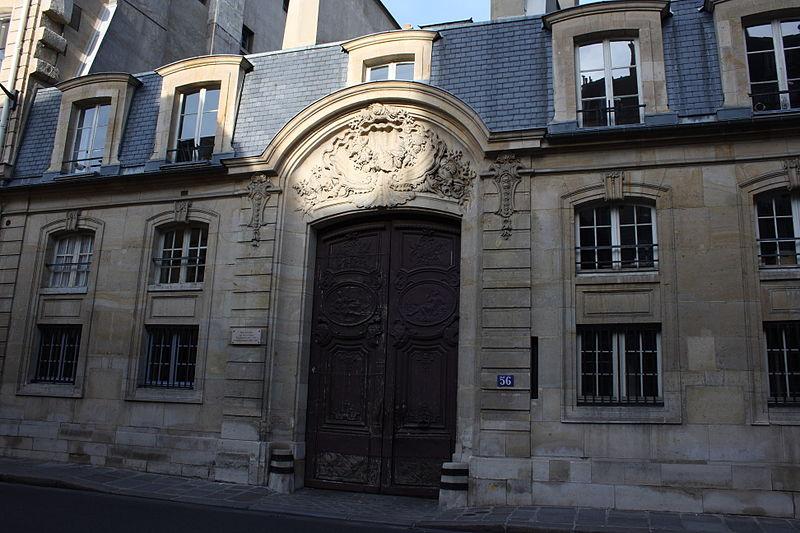 Photo du Monument Historique Hôtel Gouffier de Thoix, actuellement annexe des services du premier ministre situé à Paris 7e Arrondissement