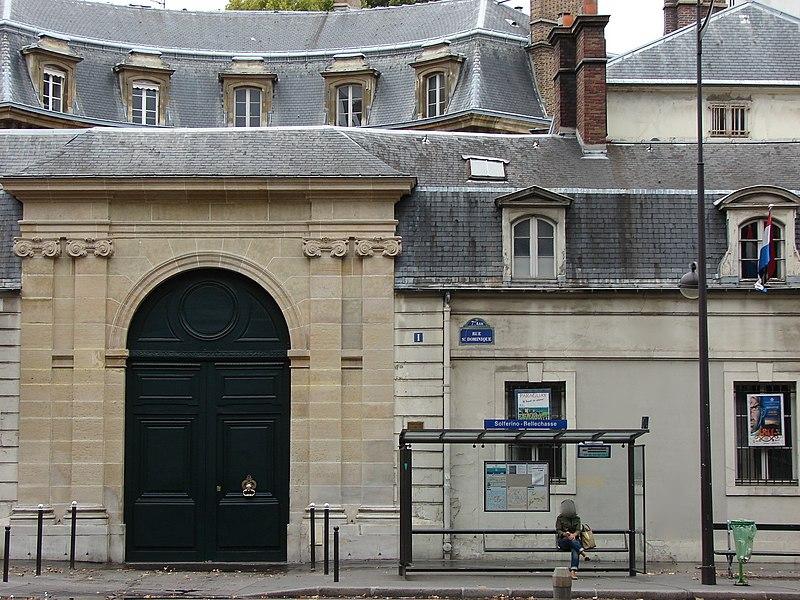 Photo du Monument Historique Hôtel de Gournay ou de Mortemart, dit aussi d'Aguesseau, d'Haussonville ou de Turigny situé à Paris 7e Arrondissement