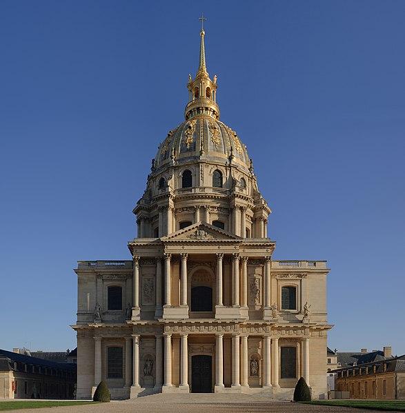 Photo du Monument Historique Hôtel des Invalides situé à Paris 7e Arrondissement