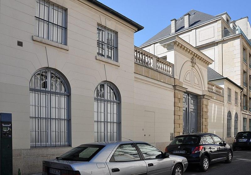 Photo du Monument Historique Hôtel de Jarnac situé à Paris 7e Arrondissement