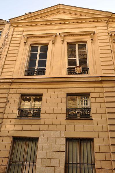 Photo du Monument Historique Hôtel Kinski ou Kunsky situé à Paris 7e Arrondissement