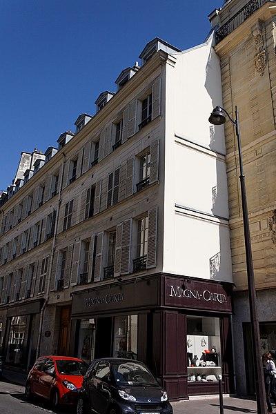 Photo du Monument Historique Hôtel de la Feuillade situé à Paris 7e Arrondissement