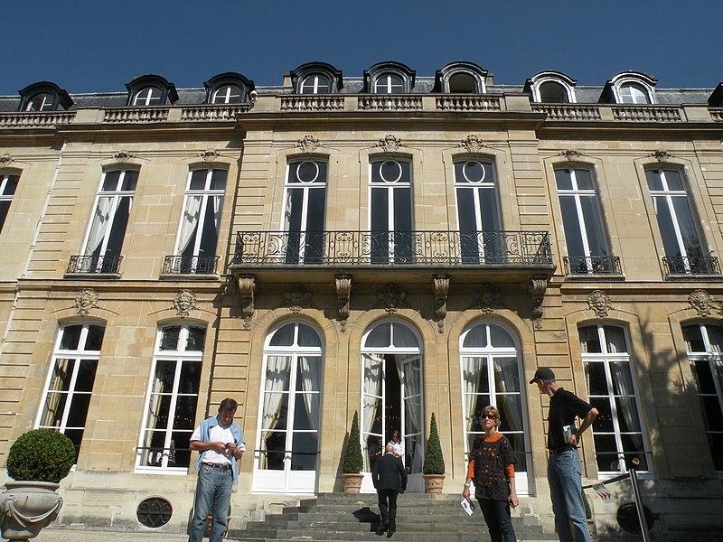 Photo du Monument Historique Hôtel de la Rochefoucauld-Doudeauville ou de Boisgelin situé à Paris 7e Arrondissement