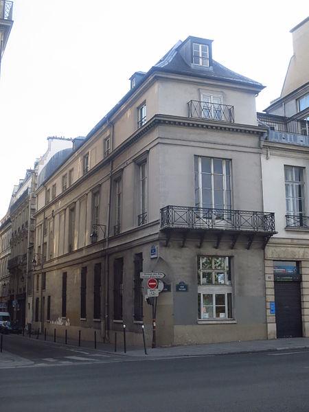Photo du Monument Historique Hôtel Mailly-Nesle situé à Paris 7e Arrondissement