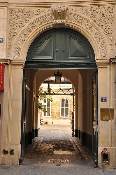 Photo du Monument Historique Hôtel de Martignac  , actuellement annexe du ministère de l'éducation nationale situé à Paris 7e Arrondissement