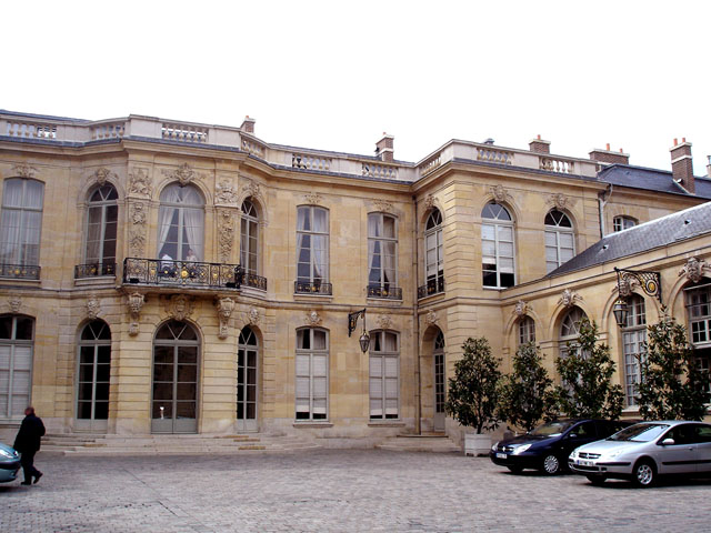 Photo du Monument Historique Ancien hôtel Matignon situé à Paris 7e Arrondissement