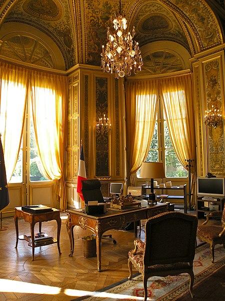 Photo du Monument Historique Hôtel du Ministère des Affaires Etrangères situé à Paris 7e Arrondissement