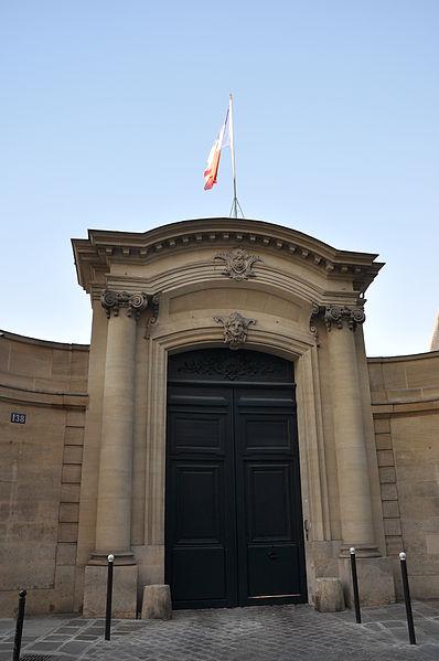 Photo du Monument Historique Hôtel de Noirmoutier ou de Sens, actuellement résidence du préfet de région situé à Paris 7e Arrondissement