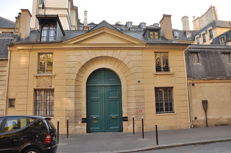 Photo du Monument Historique Hôtel de Périgord situé à Paris 7e Arrondissement