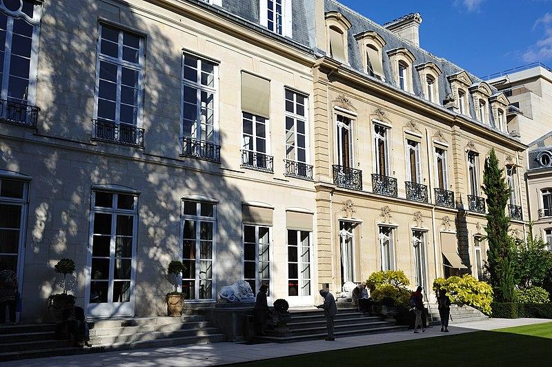 Photo du Monument Historique Hôtel de Pomereu situé à Paris 7e Arrondissement