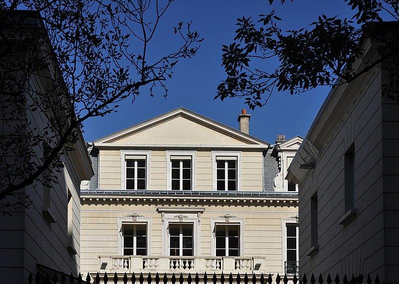 Photo du Monument Historique Hôtel de Richepanse situé à Paris 7e Arrondissement