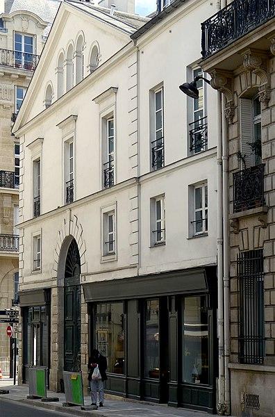 Photo du Monument Historique Hôtel de Rohan-Chabot ou de Tessé-Vendome situé à Paris 7e Arrondissement