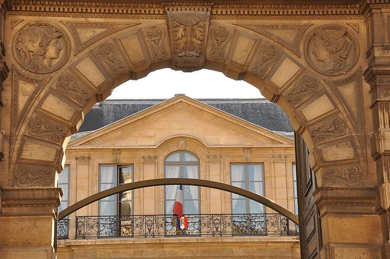 Photo du Monument Historique Hôtel Rothelin-Charolais  , actuellement ministère de l'industrie situé à Paris 7e Arrondissement