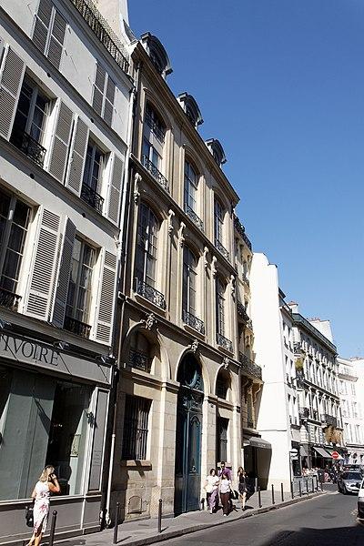 Photo du Monument Historique Hôtel de Sainte-Aldegonde situé à Paris 7e Arrondissement