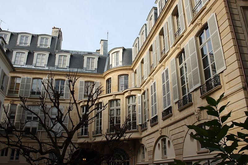 Photo du Monument Historique Hôtel de Salm-Dyck  ou ancien hôtel de Ségur situé à Paris 7e Arrondissement