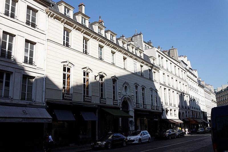 Photo du Monument Historique Ancien hôtel de Samuel Bernard situé à Paris 7e Arrondissement