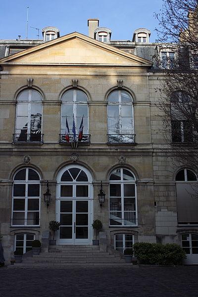Photo du Monument Historique Hôtel de Seignelay, actuellement ministère de l'industrie et du commerce situé à Paris 7e Arrondissement