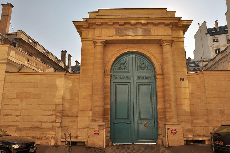 Photo du Monument Historique Hôtel de Soyecourt ou Pozzo di Borgo ou ancien hôtel des Présidents de Maisons situé à Paris 7e Arrondissement