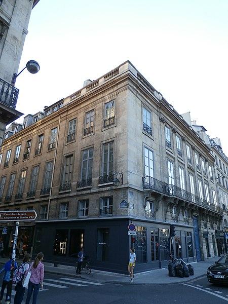 Photo du Monument Historique Hôtel de Tessé situé à Paris 7e Arrondissement
