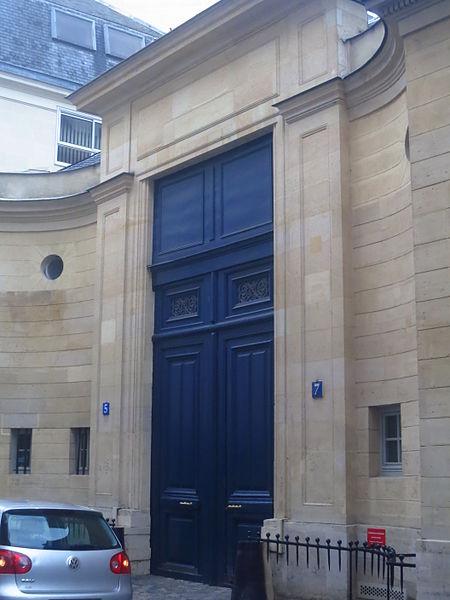 Photo du Monument Historique Hôtel de Vaudreuil situé à Paris 7e Arrondissement