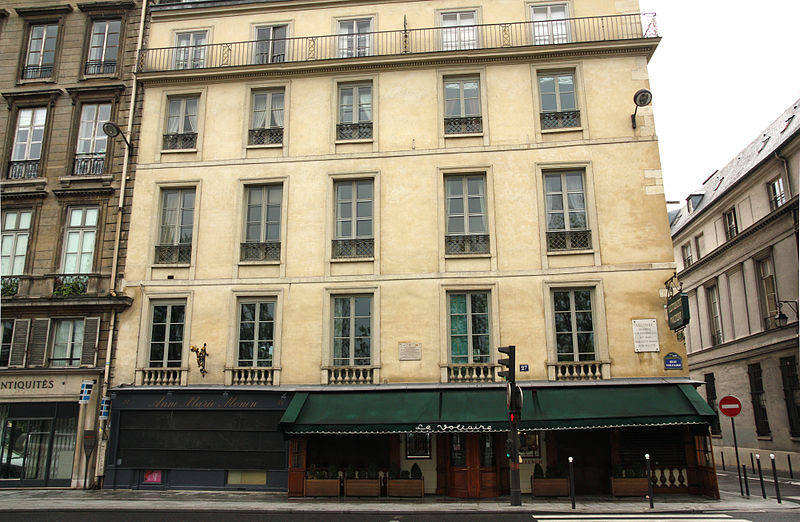 Photo du Monument Historique Hôtel de Vilette ou de Bragelongue situé à Paris 7e Arrondissement