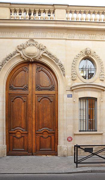 Photo du Monument Historique Petit Hôtel de Villars situé à Paris 7e Arrondissement
